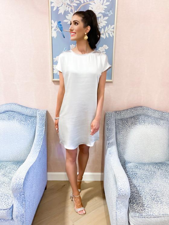 Kerra Dress- Light Grey