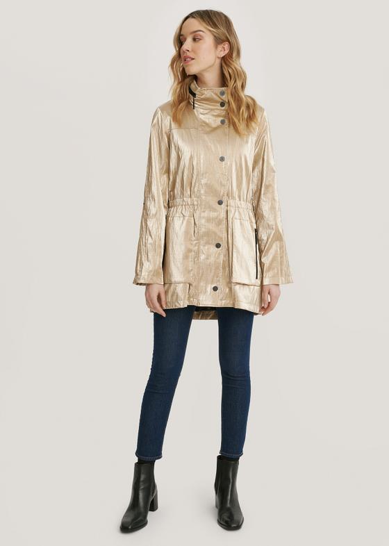 Quinn Rain Jacket- Gold