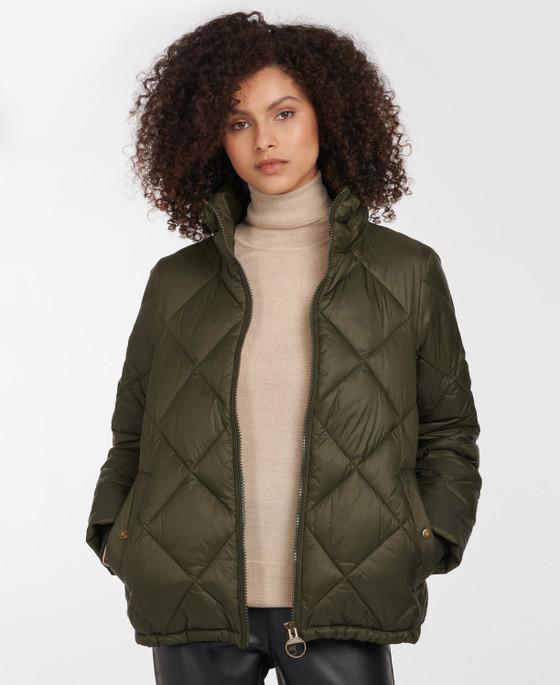 Alness Quilt Jacket- Sage