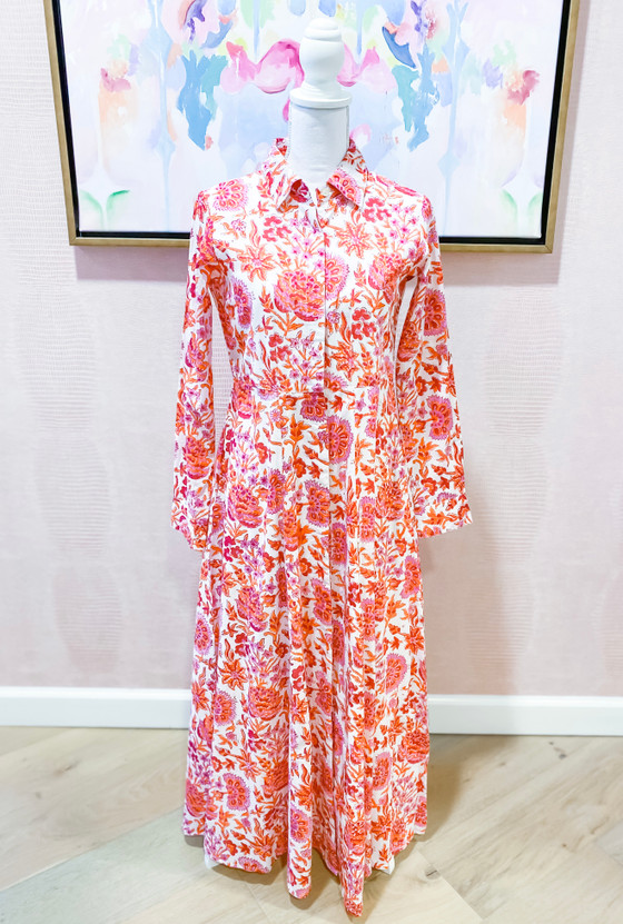 Classic Shirtdress- Autumn Chintz