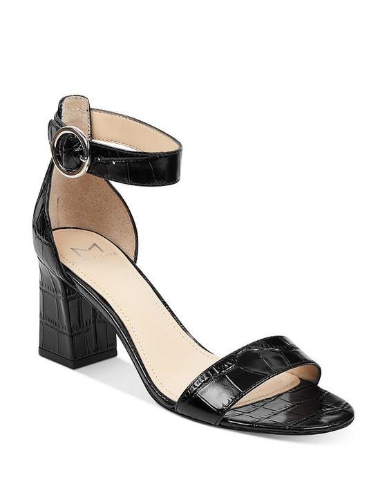 Karlee Open Toe Heeled Sandal- Multiple Colors