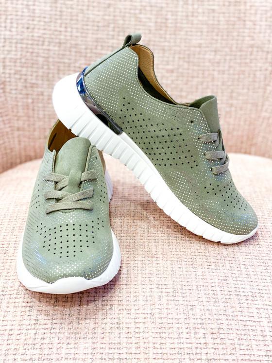 Tulip Sneaker- Army