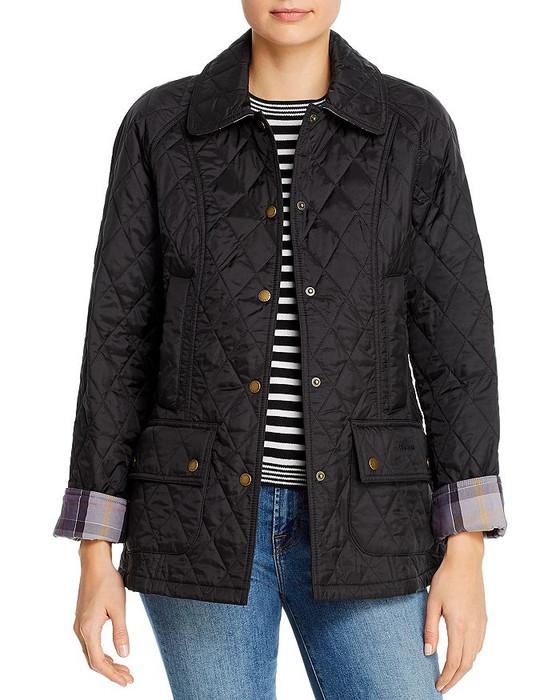 Beadnell Polarquilt Jacket- Black