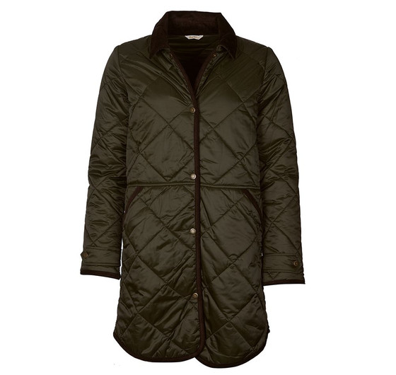 Peppergrass Quilted Jacket- Sage