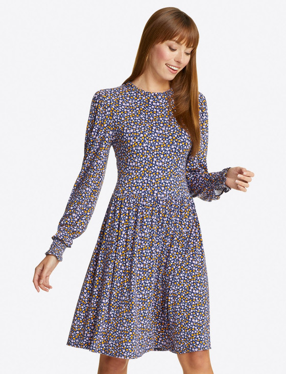 Kitty Shift Dress- Ditsy Floral