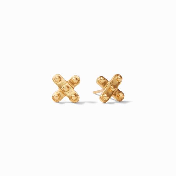 SoHo Demi X Stud- Gold