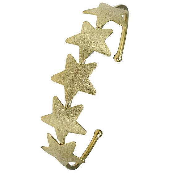 Aaron Star Cuff- Gold