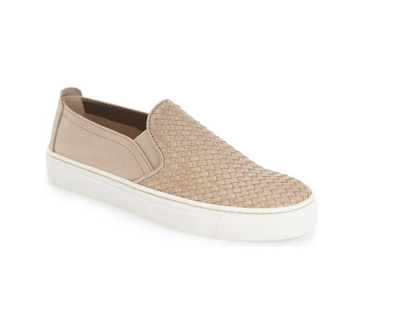 Sneak Name Slip-On Sneaker- Gold