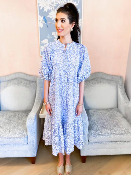 Flirty Dress- Sonia Blue