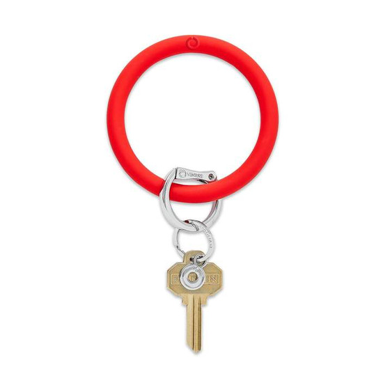 Big O Key Ring Silicone- Cherry on Top