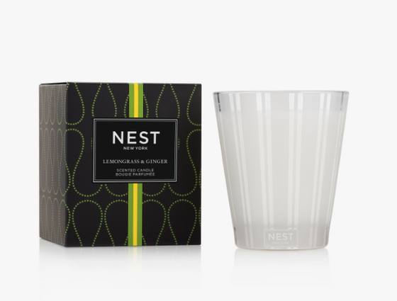 Classic Candle- Lemongrass & Ginger