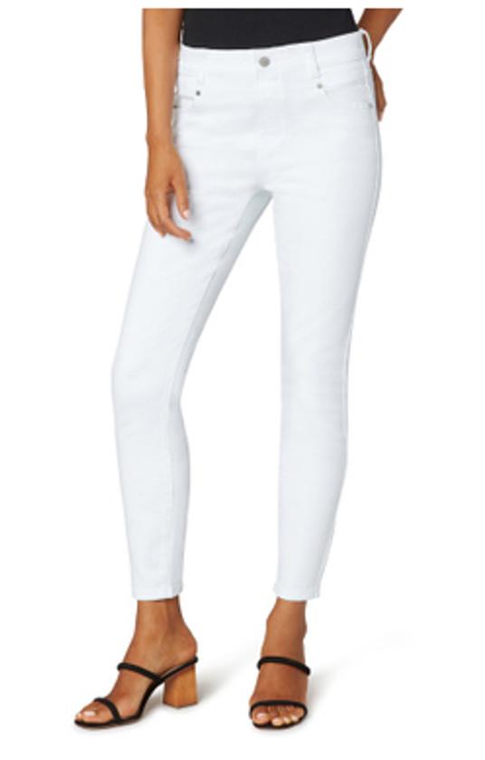 Gia Glider Ankle Skinny Jean- Bright White