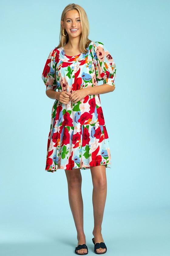 Anna Dress- Modern Rose