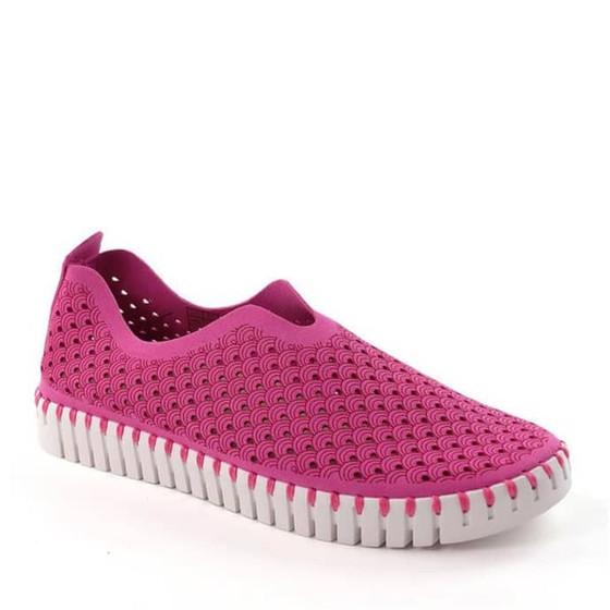 Tulip Slip-On Shoe- Rose Violet