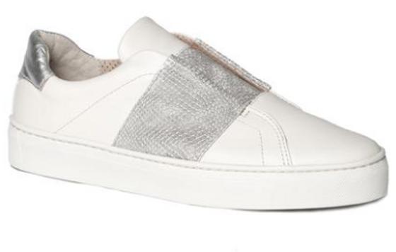 Commuter Slip-On Sneaker- Silver