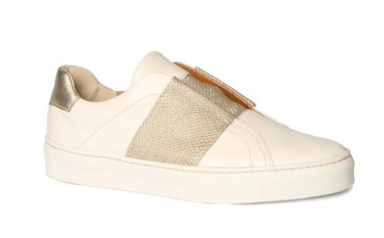 Commuter Slip-On Sneaker- Gold