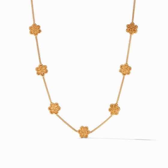 Colette Delicate Station Necklace- Gold