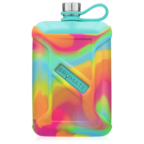 Liquor Canteen- Tie-Dye Swirl Aqua