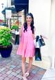 Peony Dress- Bubblegum Pink