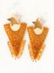 Star Triangle Earrings- Gold