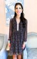 Waverly Dress- Mini Dalmation