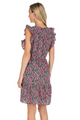 V-Neck Ruffle Dress- Clover