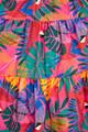Macaw Bow Top Midi Dress- Multi