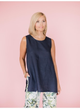 Tilly Tank- Navy