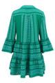Ella Dress- Blue/Green