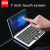 New Original GPD Pocket 7 Inch Mini Laptop UMPC Windows 10 System Aluminum Shell CPU x7-Z8750 8GB/128GB ( Silver)