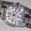 Luxury Woman Watches! Austrian Crystal Full Rhinestone watch popular Dress Watch! Fashion Diamond Wristwatches bracelet watches