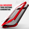 H&A 360 Degree Full Cover Case For iPhone 7 6s 5s 5 SE With Tempered Glass Case cover For iphone 7 6 Plus Phone bag Capa Coque