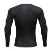 Raglan Sleeve Iron Man 3D Printed T shirts Men Avengers 3 Compression Shirts 2018 Crossfit Top For Male crossfit fitness Clothes