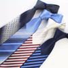 JEMYGINS Mens Ties New Man Fashion Neckties Corbatas Hombre Gravata Jacquard Woven 7cm Slim Tie Business Gradient Tie For Men