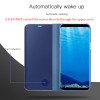 Mirror Smart Clear View Flip Case For Samsung Galaxy S9 Note 8 S8 S7 Edge A3 A5 A7 2017 A6 J6 J8 2018 Leather Phone Case Cover