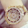 Golden Silver Rose Gold Famous Brand 2018 New Luxury Contena Ladies Watches Rhinestone Full Diamonds Women Dress Watches
