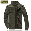 TAWILL Men jacket jean military Plus 6XL army soldier cotton Air force one male Brand clothing Spring Autumn Mens jackets 8331
