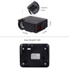 Touyinger Everycom X5 X5A Mini LCD Projector Android Wifi Optional 1500 Lumens Home theater VGA HDMI USB Portable Video Beamer
