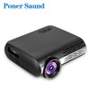 Poner Saund M2 LED Projector Home Beamer FULL HD 1080P 4500 Lumens Android 6.0 WiFi Bluetooth HD 1080P HDMI USB Video Proyector