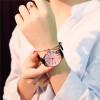Polygonal dial design women watches luxury fashion dress quartz watch ulzzang popular brand white ladies leather wristwatch