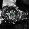 Readeel Mens Watches Top Brand Luxury Waterproof Led Digital Quartz Watch Man Sport Wrist Watch Men Waterproof Led Clock Male