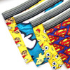 TEXIWAS 7Pcs/lot Silk Underwear Men  Cartoon Print Man Boxers Homme Comfortable Underpants Soft Breathable Male Panties