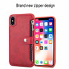 CBL PU Leather Zipper Case For iPhone 8 Plus 7 6 s Plus X(10) Wallet Flip Stand Cover For iPhone 7 Plus 6 6s Phone Cases Shell