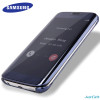 100% Original For Samsung Galaxy s7 G930F case mirror clear view smart cover intelligent sleep protective flip case cover phone