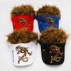 Golf Cap Fake Hair men Hat wig/hair UV Sun Hat/Cap golf hat baseball cap wholesale2018 new style Free Shipping