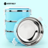 WORTHBUY Japanese Thermal Lunch Box Stainless Steel Food Containers Storage Portable Kids Bento Lunch Box For School Picnic Set