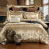 Luxury Bedding Sets Jacquard Queen/King Size Duvet Cover Set wedding Bedclothes Bed Linen Quilt Cover