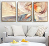 Modern Abstract Psychedelic Lines Canvas Paintings Modular Pictures Wall Art Canvas for Living Room Decoration No Framed