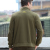 2018 Fashion Men's Jackets Casual Army Green Solid Large Size Jacket Lapel Zipper Men's Bomber Military Outerwear Coats WMS-6391