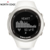 Women digital watches sports white lady smart watch for woman outdoor running sport Altimeter Compass hiking hours NORTH EDGE